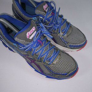 ASICS GT-1000 Womens Running Shoes size 9 Silver/B